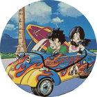 Pog n°15 - Sangohan & Videl - Dragon Ball Z - Caps - Panini