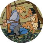 Pog n°35 - John Smith prisonnier - Pocahontas - World Pog Federation (WPF)
