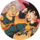 Pog n°16 - Trunks & Videl - Dragon Ball Z - Caps - Panini