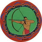 Pog n°40 - L'archer - Pocahontas - World Pog Federation (WPF)