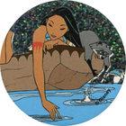 Pog n°46 - Sur la rivière - Pocahontas - World Pog Federation (WPF)