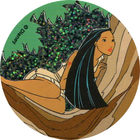 Pog n°51 - Le rêve dans l'arbre - Pocahontas - World Pog Federation (WPF)