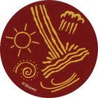 Pog n°59 - Signes indiens 2 - Pocahontas - World Pog Federation (WPF)