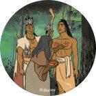Pog n°60 - La marque rouge - Pocahontas - World Pog Federation (WPF)