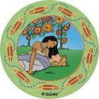 Pog n°62 - Dans l'herbe - Pocahontas - World Pog Federation (WPF)