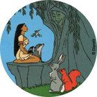 Pog n°63 - À l'écoute - Pocahontas - World Pog Federation (WPF)