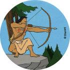 Pog n°65 - Kocoum sur le roc - Pocahontas - World Pog Federation (WPF)