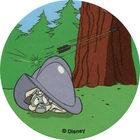 Pog n°66 - Le casque - bouclier - Pocahontas - World Pog Federation (WPF)