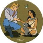Pog n°69 - Tous les amis - Pocahontas - World Pog Federation (WPF)