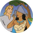 Pog n°71 - John et Pocahontas 2 - Pocahontas - World Pog Federation (WPF)