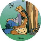 Pog n°77 - Le petit voleur - Pocahontas - World Pog Federation (WPF)