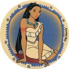 Pog n°87 - La belle Pocahontas - Pocahontas - World Pog Federation (WPF)