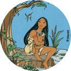 Pog n°94 - Au bord de la rivière - Pocahontas - World Pog Federation (WPF)
