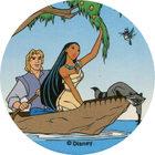 Pog n°95 - Canoë sur la rivière - Pocahontas - World Pog Federation (WPF)