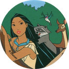 Pog n°98 - Les amis de la forêt - Pocahontas - World Pog Federation (WPF)