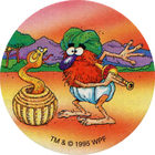 Pog n°21 - Bombay Charmer - Série n°3 - Tour du monde - World Pog Federation (WPF)