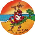 Pog n°25 - Hula Guru - Série n°3 - Tour du monde - World Pog Federation (WPF)