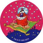 Pog n°26 - Fly like a rug - Série n°3 - Tour du monde - World Pog Federation (WPF)