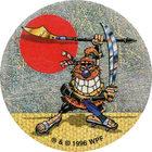 Pog n°34 - Shogun - Série n°3 - Tour du monde - World Pog Federation (WPF)