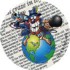 Pog n°35 - POG World News - Série n°3 - Tour du monde - World Pog Federation (WPF)