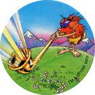 Pog n°46 - Swiss Alps - Série n°3 - Tour du monde - World Pog Federation (WPF)