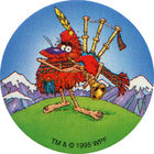 Pog n°56 - POGMAN The Brave - Série n°3 - Tour du monde - World Pog Federation (WPF)