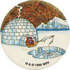 Pog n°60 - Northern Exposure - Série n°3 - Tour du monde - World Pog Federation (WPF)