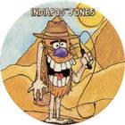 Pog n°63 - IndiaPOG Jones - Série n°3 - Tour du monde - World Pog Federation (WPF)