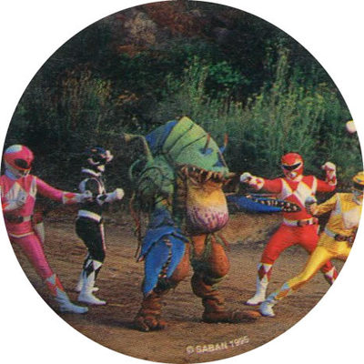 Pog n° - Power Rangers - World Pog Federation (WPF)