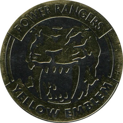 Pog n° - Power Rangers - World Pog Federation (WPF)