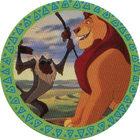 Pog n°9 - Rafiki et Mufasa - Le Roi Lion - Panini
