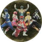 Pog n°74 - Power Rangers - World Pog Federation (WPF)