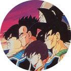 Pog n°44 - Baddack, Sélipa, Toma & Pumbukin - Dragon Ball Z - Caps - Panini