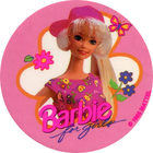 Pog n°4 - Barbie for girls - World Pog Federation (WPF)