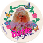 Pog n°7 - Barbie for girls - World Pog Federation (WPF)