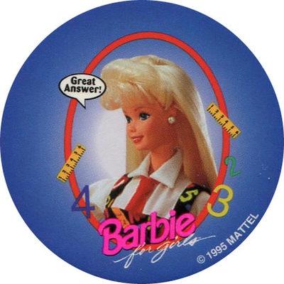 Pog n° - Barbie for girls - World Pog Federation (WPF)