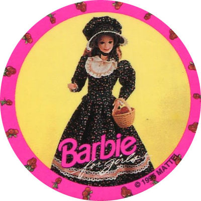 Pog n° - Barbie for girls - World Pog Federation (WPF)