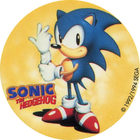 Pog n°3 - Sonic the Hedgehog - Auchan - Wackers