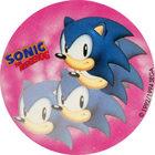 Pog n°4 - Sonic the Hedgehog - Auchan - Wackers