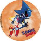 Pog n°6 - Sonic the Hedgehog - Auchan - Wackers