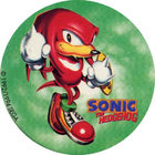 Pog n°8 - Sonic the Hedgehog - Auchan - Wackers