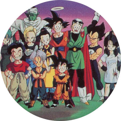 Pog n° - Dragon Ball Z - Caps - Panini