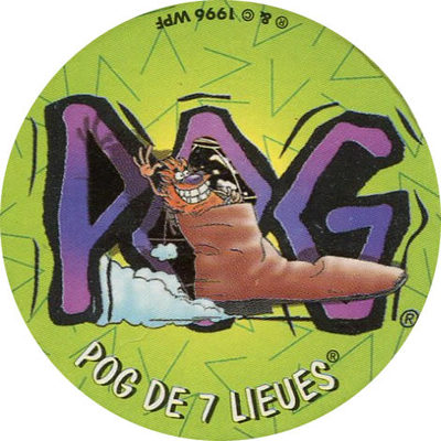 Pog n° - Harry's - World Pog Federation (WPF)