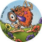 Pog n°8 - POGMAN Écolo 4 - Babybel - World Pog Federation (WPF)