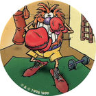 Pog n°15 - POGMAN Sportif 3 - Babybel - World Pog Federation (WPF)