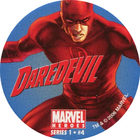 Pog n°4 - Daredevil - Marvel Heroes - Global Pog Association (GPA)