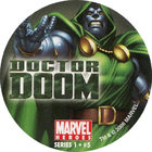 Pog n°5 - Doctor Doom - Marvel Heroes - Global Pog Association (GPA)