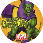 Pog n°7 - Green Goblin - Marvel Heroes - Global Pog Association (GPA)