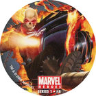 Pog n°8 - Ghost Rider - Marvel Heroes - Global Pog Association (GPA)