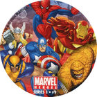 Pog n°9 - Heroes Fight - Marvel Heroes - Global Pog Association (GPA)